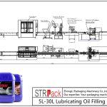 Outomatiese 5L-30L smeerolie-vullyn