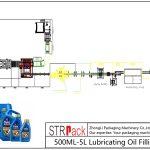 Outomatiese vulsellyn van 500ML-5L smeerolie