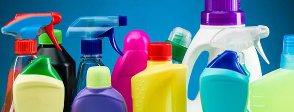Huishoudelike skoonmaakprodukte vulmachines
